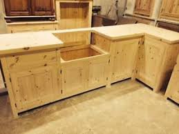 solid pine kitchen cabinets bespoke solid wood kitchen cabinets unfinished 40mm solid pine