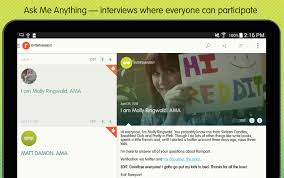 android reddit reddit rolls out ask me anything app android community