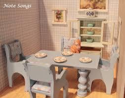 Dollhouse Kitchen Furniture Ash Tree Cottage Dollhouse Minis