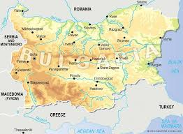 map of europe russia middle east general information industrial zones in bulgaria