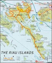map batam the fold bridging the barelang highway of batam pt 1