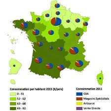 Consommation De Produits Bio Dans 4 Foyers Français Sur 10 Achètent Régulièrement Bio Malgré Le