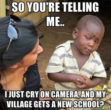 Bbc Memes - sceptical third world child what a viral picture tells us about