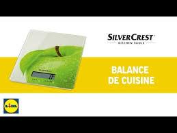 balance de cuisine silvercrest lidl silvercrest balance de cuisine