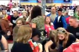 black friday sales on cell phones watch massive walmart black friday fight over cell phones on sale