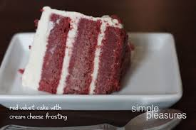 all natural red velvet cake with home made cream cheese frosting