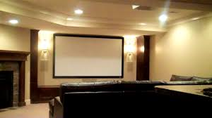 home theater in basement bathroom comely basement ceiling speakers home theater review