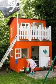 Backyard Playhouse Ideas Kids Outdoor Playhouse Plans Kids Outdoor Playhouse For Girls