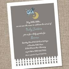 cow jumped the moon baby shower invitation 15 00 via etsy