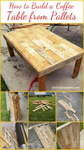 build a coffee table how to build a coffee table from pallets pallet furniture