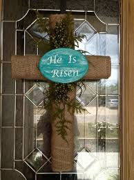 easter religious decorations best 25 cross wreath ideas on burlap cross wreath