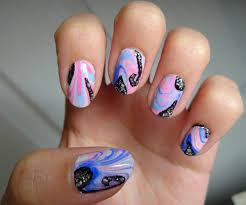18 unique water marble nail designs for 2016 pretty designs