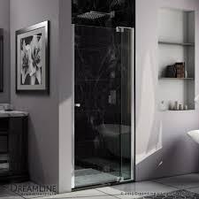 30 Shower Door 30 41 In Pivot Shower Door Dreamline