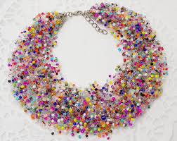 etsy beads necklace images Beaded jewelry etsy jpg