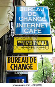 bureau union bruxelles union transfer bureau de change in uk stock