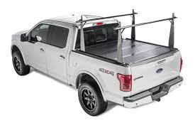 tundra truck 2007 2018 toyota tundra hard folding tonneau cover rack combo