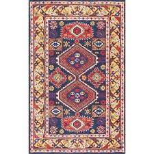 Southwestern Throw Rugs Nuloom Southwestern Area Rugs Rugs The Home Depot