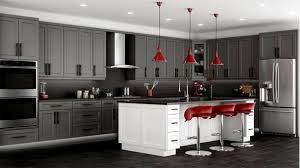 White Rustic Kitchen Cabinets by Bathroom Astonishing Two Tone Kitchen Cabinets Grey And White