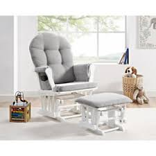glider and ottoman cushions glider ottoman furniture nursery chair baby rocking set white with