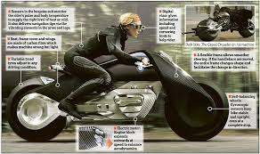 bmw motorcycle change bmw presents its self balancing motorcycle of the future daily