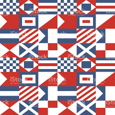 nautical flag nautical signal flags pattern stock vector art 685885802 istock