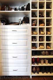 shoe shelves purse shelves cubbies highland mills