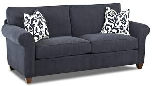 transitional queen sleeper sofa with innerspring mattress by