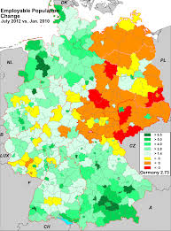 Black Forest Germany Map by Germany Employment Maps