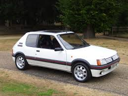 peugeot car hire europe peugeot 205 gti one of the best handling cars ever made things