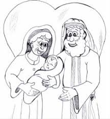 coloring page abraham and sarah abraham and sarah have a baby in their old age bible ot abram