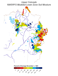Lower Colorado Water Supply Outlook March 1 2017 Soil Moisture