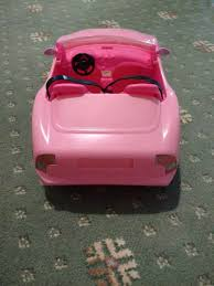 barbie red cars barbie doll toy car in corstorphine edinburgh gumtree