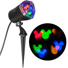 Outdoor Projector Christmas Lights by Shop Gemmy Disney Fantastic Flurry Lightshow Swirling Red Green