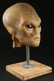 349 rick baker auction first contact alien mask prop store