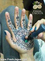 tattoo design trial run how to try on a tattoo before you ink it how to apply jagua tattoo youtube