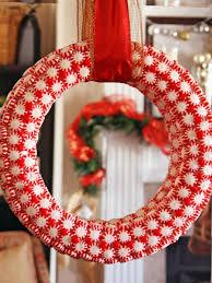 candy wreath peppermint candy wreath hgtv