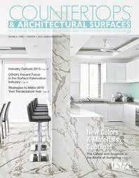 home design trends vol 3 nr 7 2015 isfa s countertops architectural surfaces vol 8 issue 1 q1