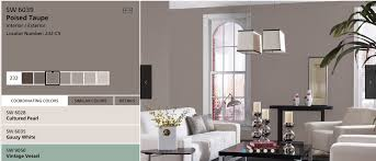 sherwin williams 2017 colors of the year sherwin williams selects poised taupe sw 6039 as 2017 color of