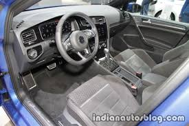 volkswagen golf 2017 interior 2018 vw golf gte interior at the iaa 2017 indian autos blog