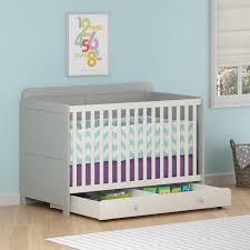 cosco willow lake changing table white gray amazon com cosco products willow lake under storage drawer for