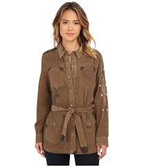 Double D Ranch Clothing Double D Ranchwear Native Tea Field Jacket In Brown Lyst