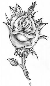 bg rose tattoo by vikingtattoo on deviantart