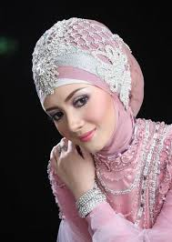 tutorial hijab pengantin 2014 pink bride tulle pink by l and g gifts and goodies ones