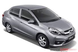 2016 honda amaze facelift gets projector headlamps with led