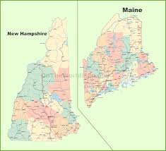 Orleans France Map by Map Of New Hampshire And Maine