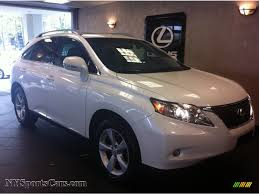 2013 white lexus rx 350 for sale 2010 lexus rx 350 awd in starfire white pearl 025947