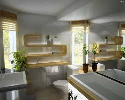 Modern Wooden Shelf Design by Modern Wood Bathroom Bathroom Modern Bathroom Decor Ideas With