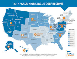 Map Of The Stars Los Angeles by Pga Junior League Golf