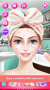 bridal boutique beauty salon wedding makeup dressup and makeover games screenshot 5