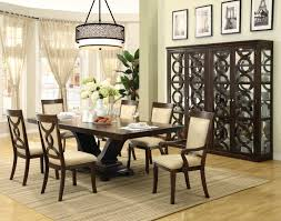dining room table for 12 72 two tone wooden round dining room table for 6 set wooden brown